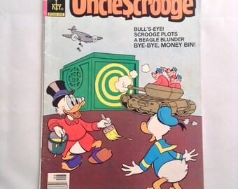 Vintage Comic Book Uncle Scrooge