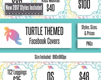 Turtle Facebook Album Covers | Styles, Prices, and Sizes | New Styles Included