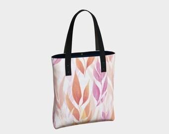 Peach Oat Tote Bag