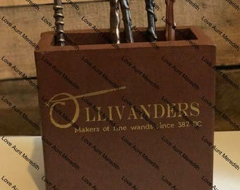 Harry Potter Ollivanders Inspired Pencil Box Cup