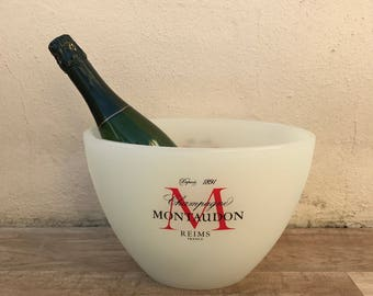 Vintage French Champagne French Ice Bucket Cooler Basin MONTAUDON 10021825