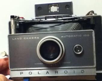 Vintage Camera Polaroid Land Camera Automatic 100