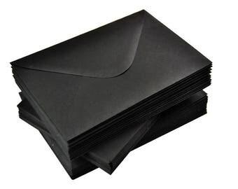 Black Envelopes | Set of 50 | 120g