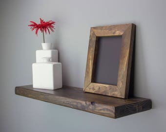 Floating Shelves with Hidden Bracket | Wood Floating Shelves | Rustic Floating Shelf | Wood Shelves | Farmhouse Decor | Rustic Shelves