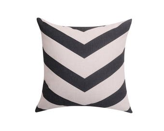 Striped throw pillow covers Geometric pillow cover Linen decorative pillow case Black cushion cover Throw pillows for couch home decor 18x18