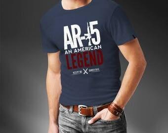 AR-15 An American Legend T-Shirt