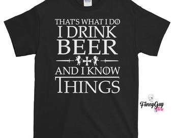 Beer Lover Tee | Smart Beer Lover | Beer Drinker Gift | Beer T-shirt | Beer Brewing Tee | Funny Beer Tee | Best Beer Shirt | Cool Beer Lover