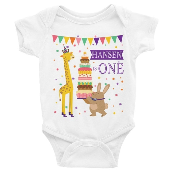 Custom name birthday baby onesie, personalized first birthday, 1st birthday onesie, birthday outfit, birthday bodysuit, birthday shirt