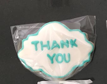 Thank You Sugar Cookie