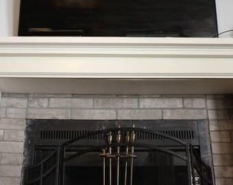 Catshelf Custom Mantel & Columns