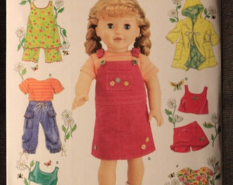 Simplicity 4654   Elaine Heigl Designs   18in Doll Clothes