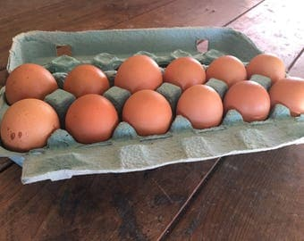 Pastured chicken eggs