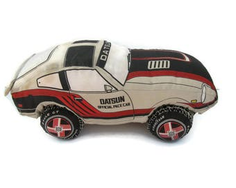 VTG Nissan Datsun 240z 280z Fairlady Official Pace Car Plush Goodyear 1982 RARE Toy for Adults