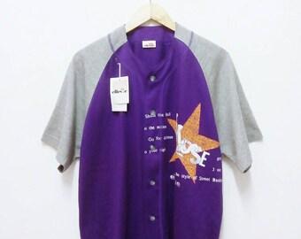 Hot Sale!!! Rare Vintage 90s (NWT) ELLESSE BASEBALL Shirt Hip Hop Skate Swag Extra Large Size
