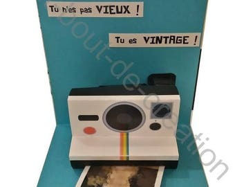 Original card Polaroid