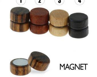 Organic Wood Magnetic Fake Plugs
