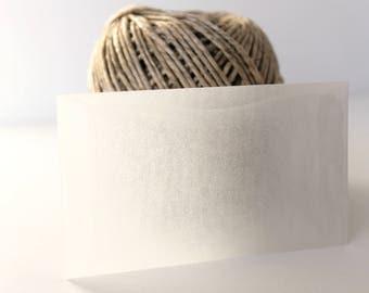 Glassine Envelopes - Set of 12