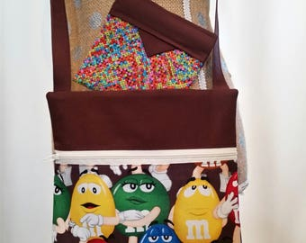 Handmade Purse by CMarie with M & M Cotton Fabric