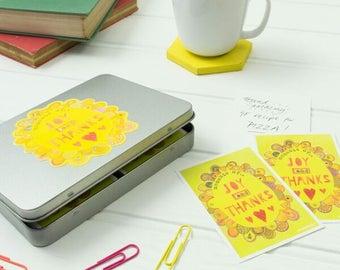 Gratitude kit - joy and thanks jar - memory jar kit - gratitude gifts - thankfulness notes - choose joy - thanksgiving