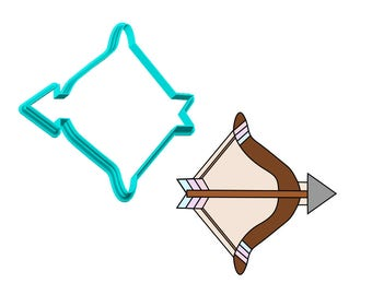 Bow and Arrow Cookie Cutter