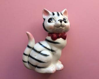 Vintage Whimsical Cat
