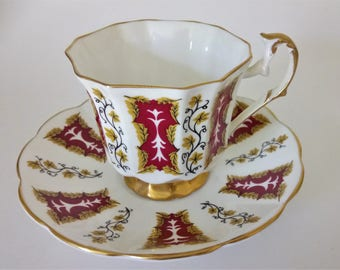 Taylor Kent Elizabethan Cup And Saucer Antique Cup And Saucer