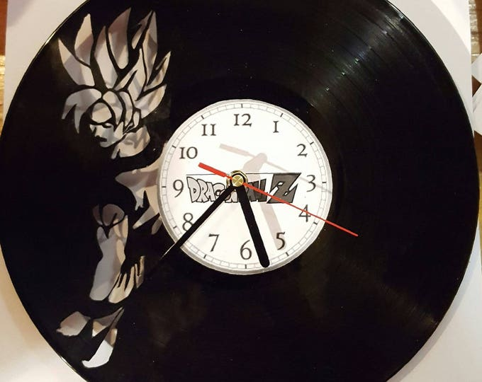 Vinyl 33 clock towers dragon Ball z theme