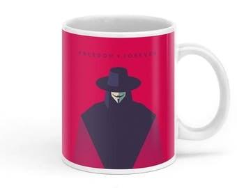 V For Vendetta Movie Mug