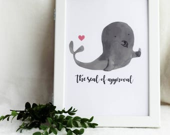 the seal of approval print