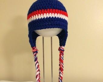 Earflap team hats