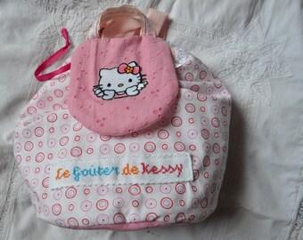 Backpack bag customized to taste. Girl model.