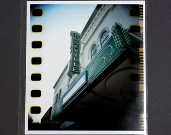 "Fine Art Photography ""Roseville Theater"" Archival Print"