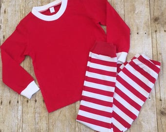 FREE SHIPPING! Christmas Pajama's with Buck and Personalized Name