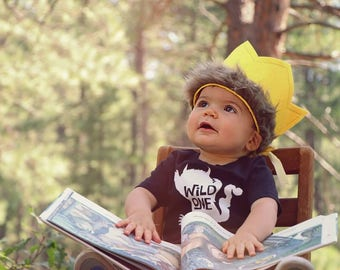 First Birthday Outfit Boy, First Birthday Shirt, Wild One Birthday, Wild One Raglan, Wild One Shirt, Where The Wild Things Are, Wild One ONE