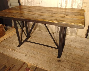 sam industrial style table furniture