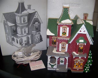 Department 56 Beacon Hill Victorian Item #54857 Retired