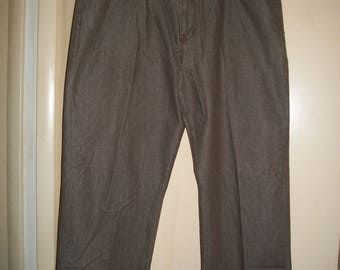 Men's Vintage 90's Rocawear Brown Denim Jeans Size 46B x 34