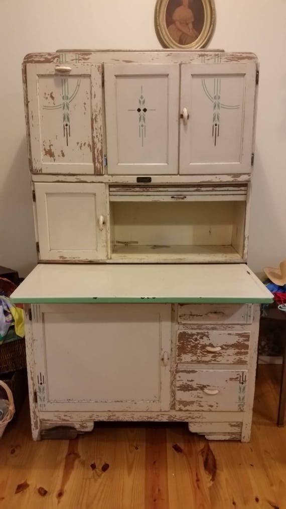 Art Deco Marsh Hoosier Cabinet