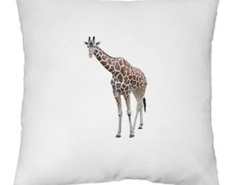 Housse de Coussin 40x40 cm - Girafe - Yonacrea