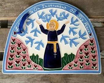 J Duban Designs Decorative Tile, J Duban Designs, Decorative Tiles, Religious Art