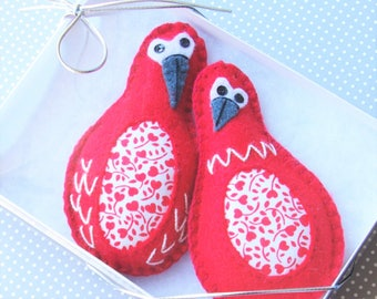 Anniversary Love Birds Gift for Couple Gift for Wife Christmas Ornaments - Christmas Gift Love Birds Ornaments Gift for Anniversary