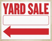 Yard Sale Flyer Printable...