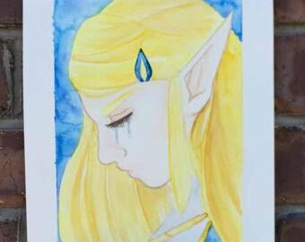 Linktober Zelda
