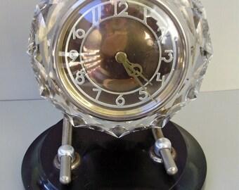 Vintage Soviet Russian Mayak Clock ,table clock,wind-up alarm clock