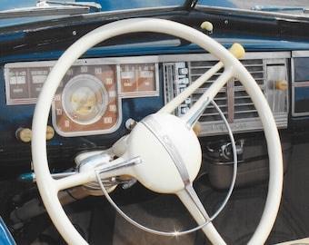 1940 Plymouth Dashboard Photo