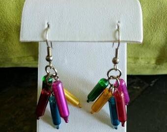 Christmas lights earring set