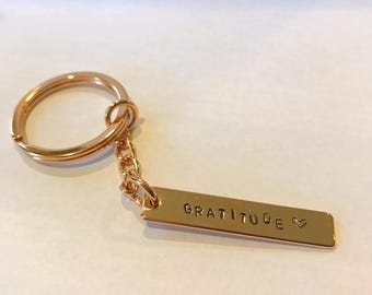 Personalized Key Chain (Rose Gold)