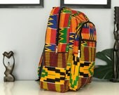 Ankara backpack / Africanprint backpack