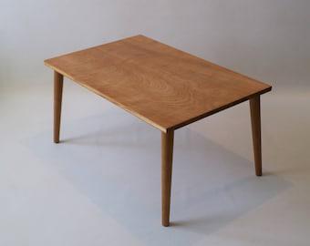 Vintage minimalist cherry coffee table