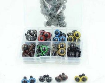 100pcs/pack 8MM 10MM 12MM Lovely Plastic Safety Eye For Teddy Bear Doll Animal Puppet Toy no.38